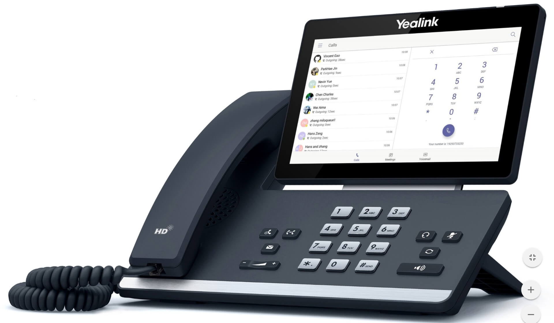 Yealink T58A Business IP Phone Image