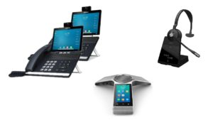 Cloud handsets - high collaboration packages
