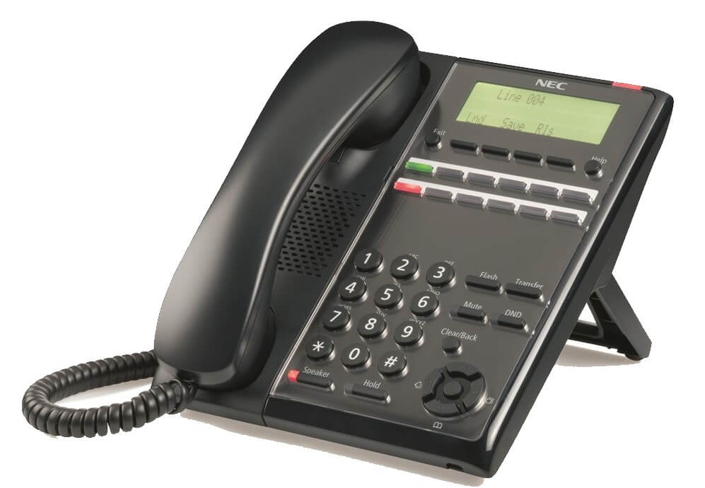NEC SL2100 12 button Digital Phone - IP7WW-12TXH-B1-TEL(BK) Image