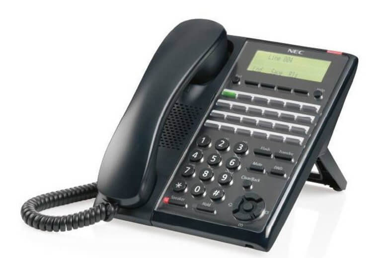 NEC SL2100 24 button Digital Phone - IP7WW-24TXH-B1-TEL(BK) Image