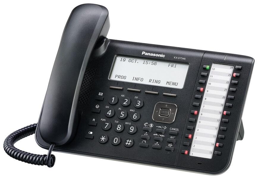 Panasonic KX-DT546 DECT Phone Image