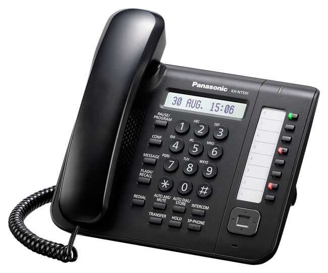 Panasonic KX-NT551 IP Phone Image