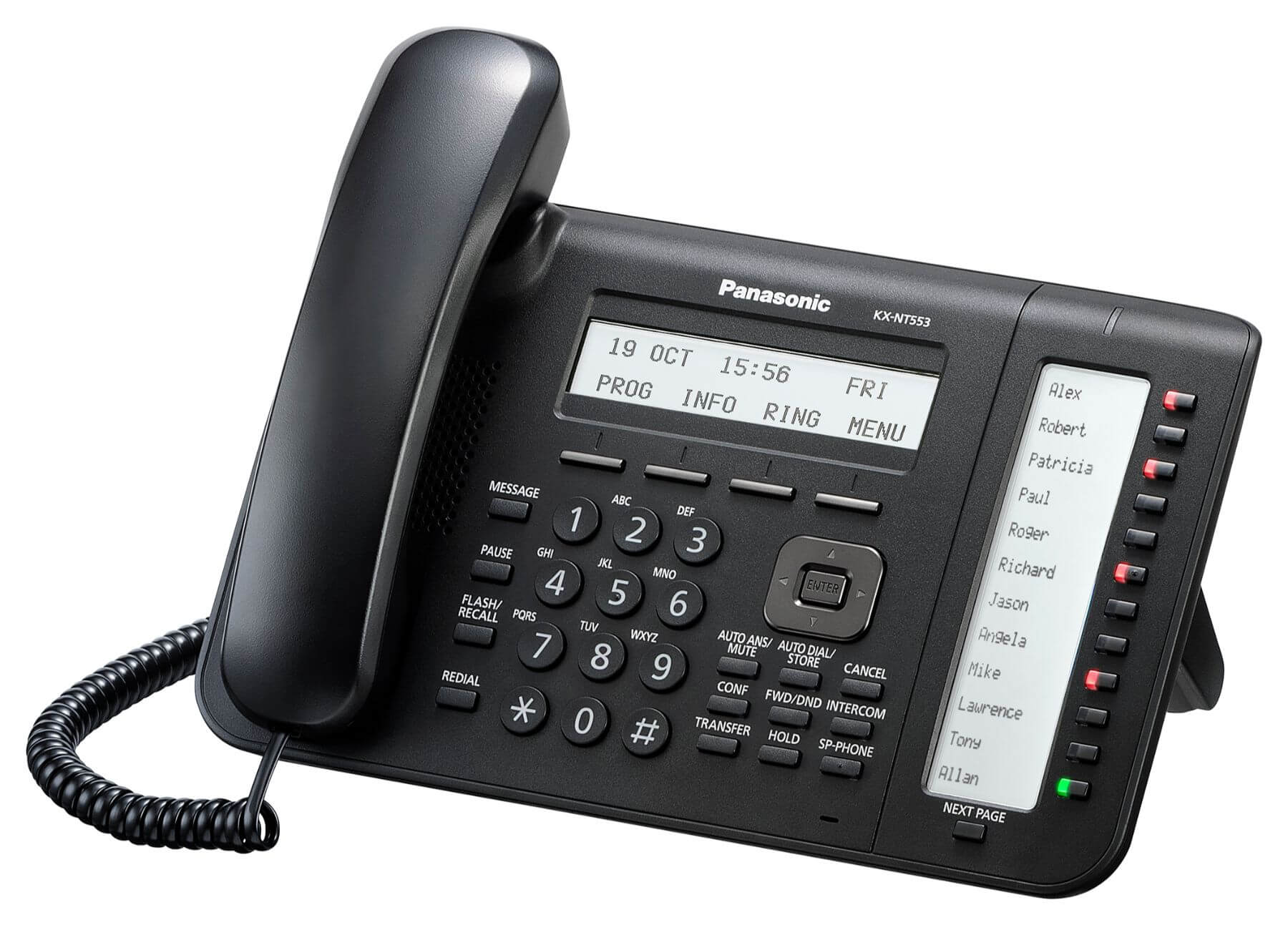 Panasonic KX-NT553 IP Phone Image