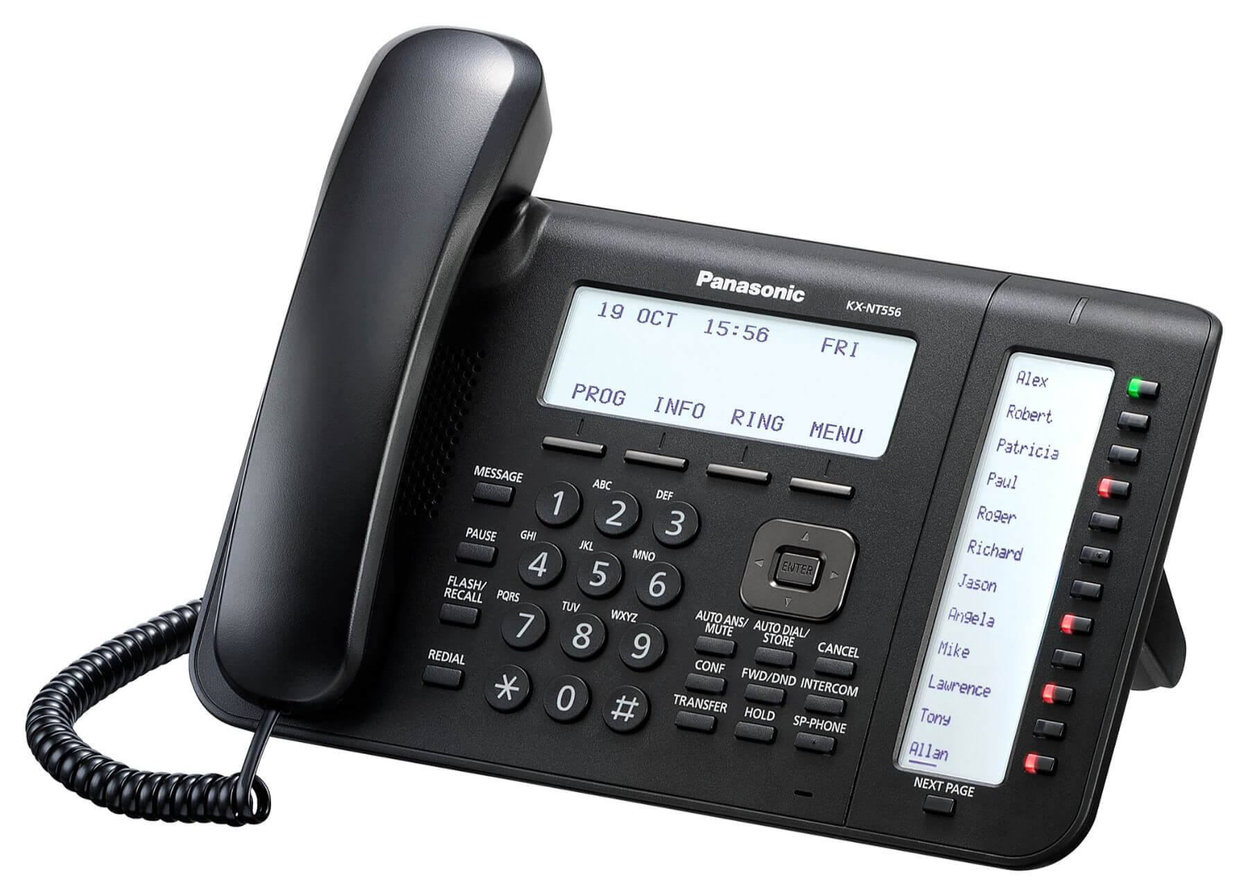 Panasonic KX-NT556 IP Phone Image