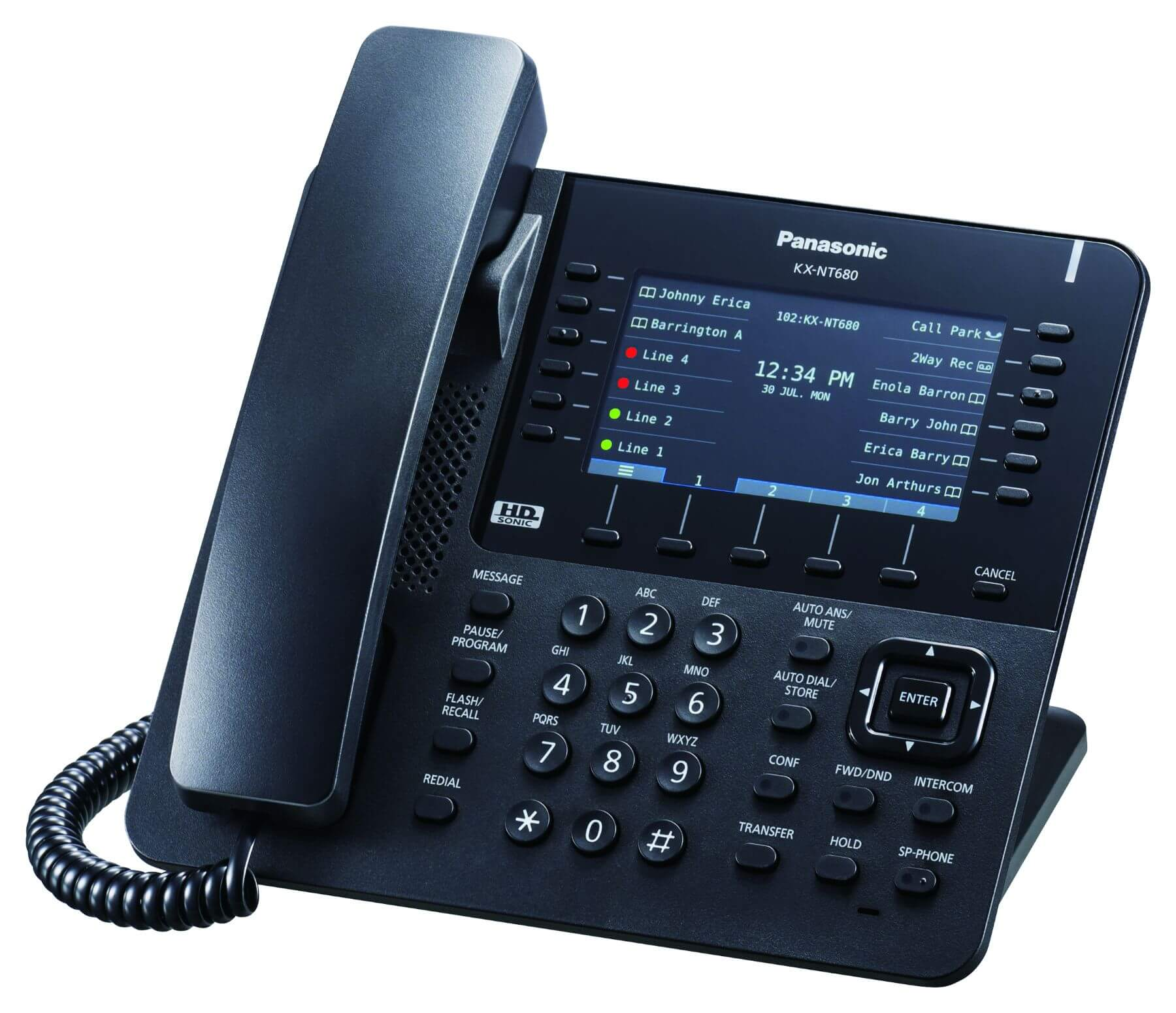 Panasonic KX-NT680 IP Phone Image