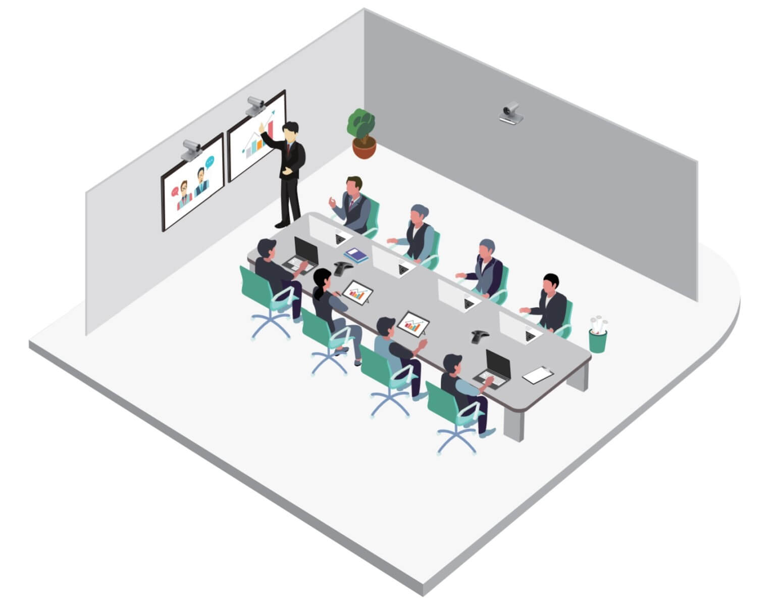 Yealink large room video conferencing