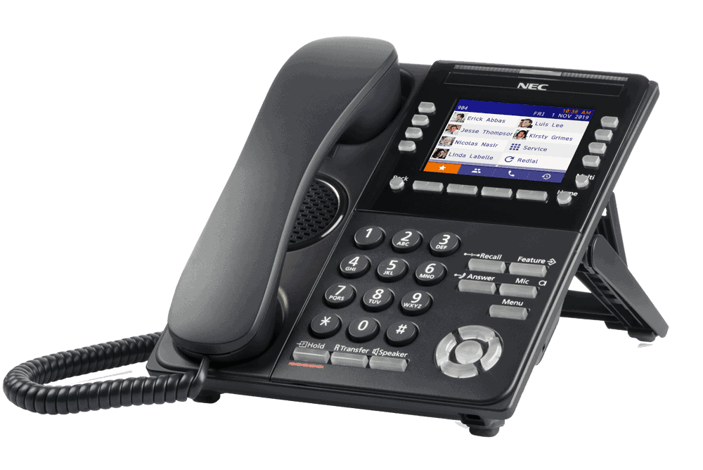 NEC DT920 Self-labelling Business Phone Image